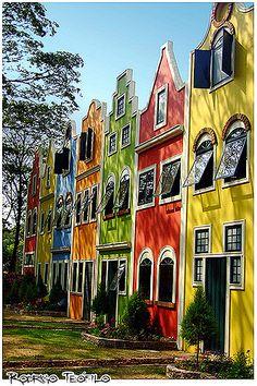 Fachadas coloridas