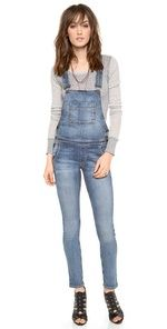 Kova & T Katie Overalls. Overalls seem to come as a package deal with the rest of the 90's fashions that are slowly but surely making their way back into style. An accelerated use of denim can clearly be observed in today's latest fashion trends. Miranda C