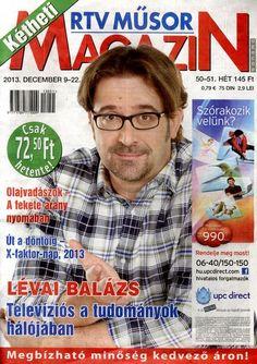 Lévai Balázs (2013.12.09. Kétheti rtv műsor magazin) #LevaiBalazs