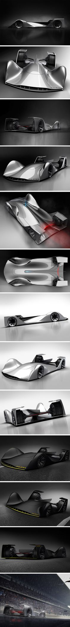 At first thought, the idea of an autonomous race car seems like a hard sell. However, that all changes when you see what the cars could look like by ditching the driver! N.01 is one such concept designed for the Roborace world. Created as a vision for the future of the autonomous race car, its iconic form is somehow aggressive and minimalistic at once.