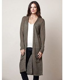 Open maxi cardigan | Maxi cardigan and Products