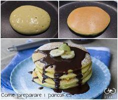 I pancakes sono delle deliziose frittelle dolci tipiche della colazione americana. Provatele anche voi per diversificare la solita colazione.