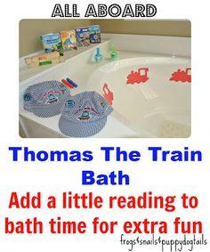 Thomas The Train Bath