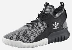High-cut design with long tongue, contrast and logo elements from adidas @aboutyoude. Outsole material: rubber.