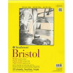 Strathmore 342-11 11-Inch by 14-Inch Bristol Smooth Paper...
