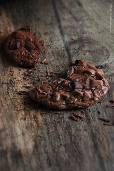 Chocolate Brownie Cookies. When two perfect worlds collide. #Chocolate