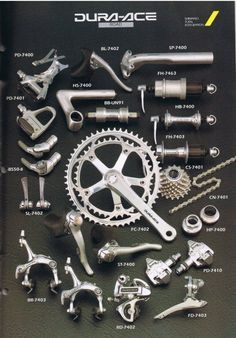 Early Shimano Dura-Ace technology #RideShimano