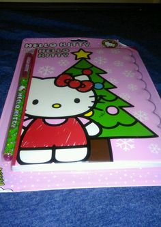 """Hello Kitty Diecut Diary With Ink Pen 60 sheets """"make me an offer"""""""