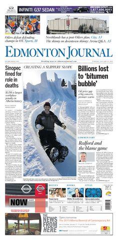 The Edmonton Journal  Friday, Jan. 25, 2013 aha fun!