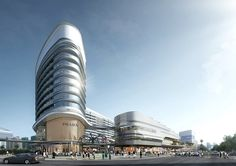 Gallery of Aedas Wins Competition for Dragon/Phoenix-Inspired Transportation Hub in Sanya, China - 5