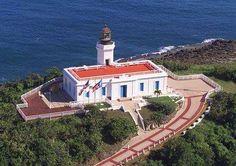 Faro de Arecibo, al norte de Puerto Rico