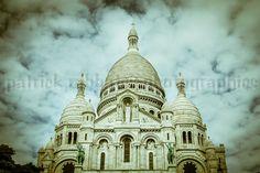 Sacré Coeur Paris Photo  Fine Art by PatrickRabbatPhotos on Etsy