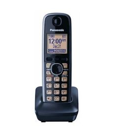 Panasonic DECT 6.0 Accessory Handset with Caller ID for KX-TG4132M, KX-TG4133M, KX-TG4134M, KX-TG4132N, KX-TG4133N, KX-TG4134N, KX-TG6591T, KX-TG6592T, KX-TG6632B, KX-TG6633B, KX-TG6641B, KX-TG6643B, KX-TG6644B, KX-TG6645B, KX-TG7622B, KX-TG7623B, KX-TG7642M, KX-TG7643M, KX-TG7644M, KX-TG7645M - Black by Panasonic. $49.99. *** PLEASE NOTE *** This Accessory Handset Can Be Used With the Following Models:  KX-TG4132M, KX-TG4133M, KX-TG4134M, KX-TG4132N, KX-TG4133N, KX-TG4134...