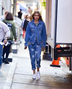 31 Times Gigi Hadid Proved Sneakers Were Way Hotter Than High Heels Wearing Adidas Superstars