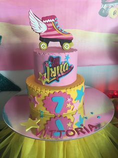 Soy Luna birthday cake by gâteau heaven for MSB events monaco geneve