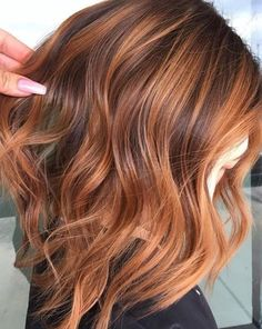 Black Coffee Hair With Ombre Highlights - 10 Cool Ideas of Coffee Brown Hair Color - The Trending Hairstyle Brown Hair With Caramel Highlights, Blonde Balayage Highlights, Hair Color Highlights, Blonde Color, Hair Color Balayage, Ombre Hair, Copper Balayage Brunette, Summer Highlights, Red Hair With Lowlights