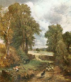 Constable ~ The Cornfield, 1826
