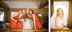 Becky and the girls on the morning of the wedding at Wasing Park, Aldermaston. #wedding #wasingpark