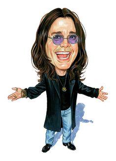 Ozzy Osbourne~ By Art