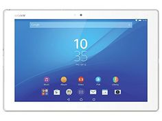 Sony Xperia Z4 Tablet SGP712 32GB 10.1-Inch Wi-Fi Tablet (White)