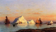 Fishermen off the Coast of Labrador William Bradford