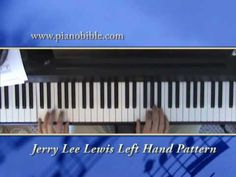 10 Standard Left Hand Patterns for piano - YouTube