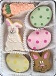 Heavenly organic locally-baked Easter cookies (a healthy gift for $45)