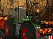 Halloween, Tractors, Monster Trucks, Vehicles, Rolling Stock, Halloween Labels, Vehicle, Spooky Halloween, Tools