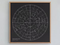 Star Chart by presentandcorrect on Etsy, $28.00