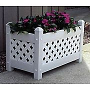 Buy Dura-Trel Inc. Rectangular Planter Box; White at Staples' low price, or read customer reviews to learn more.