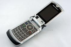 2005 - Motorola RAZ V3x  #Motorola #RAZv3x #UMTS #Drei #H3G #Klapphandy
