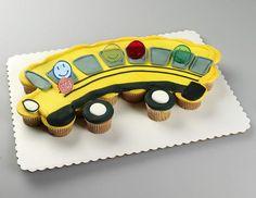 School bus cake.