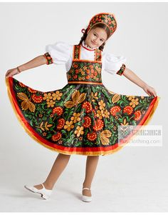 4cb85c969 Folk dances dress Russian Traditional Dress, Traditional Outfits, Modest  Outfits, Folk Dance,