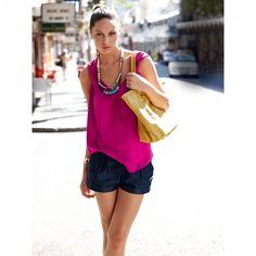 Shorts n°105 de Burda Style Juillet 2013