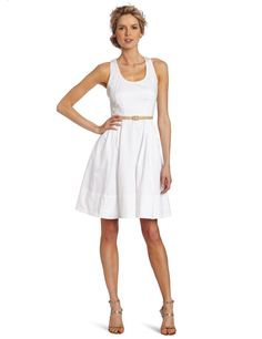 Maggy London Women's Cotton Racernack Dress  where can i find dresses  http://wherecanifinddresses.com
