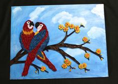 quilled parrots