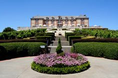 Domaine Carneros. Definitely one of the prettiest wineries I saw in Napa.