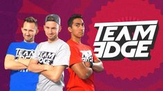 Support Team Edge creating Youtube Videos..... TEEAMM EDDGGEE... They are funyy and awesome..... J-Fred, Matthias and Bryan!! Sometimes with other youtubers Like MARKIPLER!! I love him