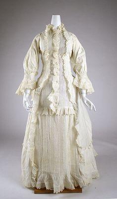 Morning Dress  1880  The Metropolitan Museum of Art  via OMG that Dress!