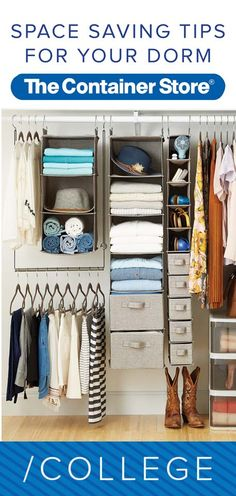 Get the scoop on how to make the most of any size dorm room or apartment. Check out our tips!