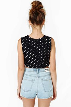 Hot Spot Crop Top | Shop Cropped at Nasty Gal