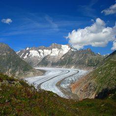 Aletschgletscher, Switzerland
