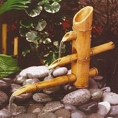 bambú natural horneado decorativo adorno elegante
