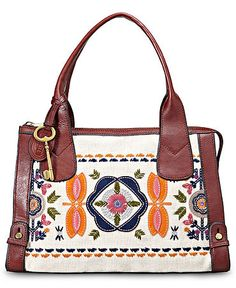 Fossil Bags Handbags Satchel Purses And