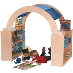 The Literacy Lounge: a book corner that's fun and functional.