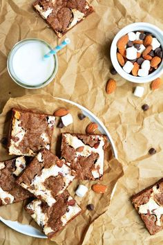 Rocky Road Cookie Bars