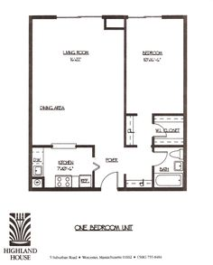 Apartment Room Layout one bedroom apartment floor plans - google search | real estate
