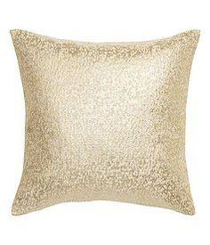 Gold Glitter Pillows, Qt.2 | Lovegood Wedding & Event Rentals