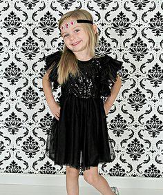 Black Sparkle Ballet Dress - Infant, Toddler & Girls #zulily #zulilyfinds