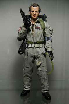 Peter Venkman | Flickr - Photo Sharing! Gi Joe, Celebrity Barbie Dolls, Videogames, The Real Ghostbusters, Live Action Movie, Ghost Busters, Custom Action Figures, Figure Model, Wooden Dolls